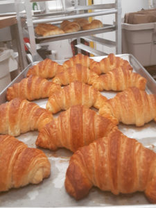group of croissants